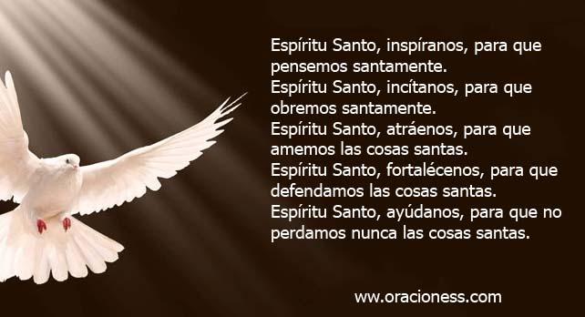 Oración al Espíritu Santo 1