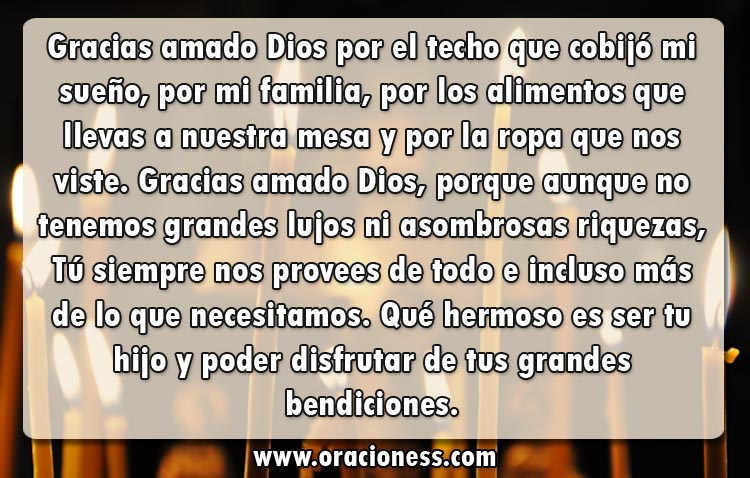 Oración milagrosa a Dios
