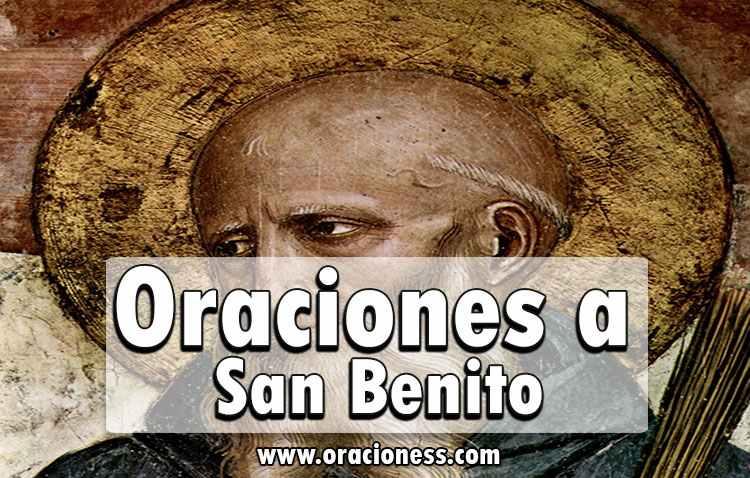 oraciones a san benito