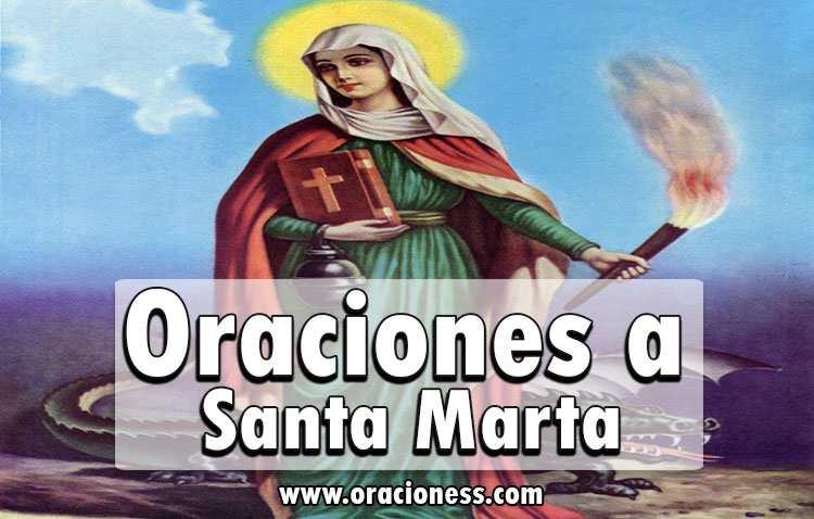 Oraciones a Santa Marta