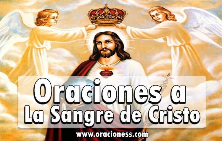 oraciones a la sangre de cristo