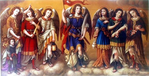Oración a los Ángeles y Arcángeles