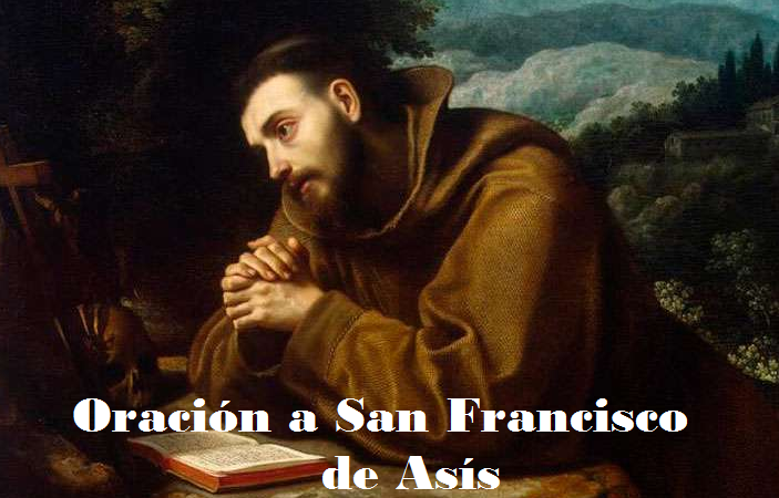 Oración a San Francisco de Asís