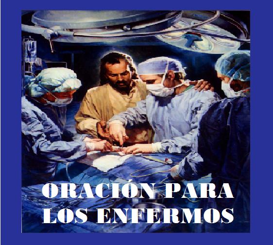 Oración para los enfermos