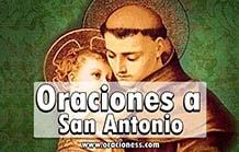 Oraciones a San Antonio