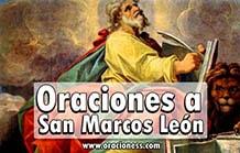 Oraciones a San Marcos de Leon