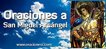 Oraciones a San Miguel Arcangel