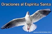 Oraciones al espiritu santo