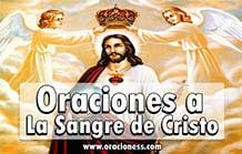 Oraciones la sangre de Cristo