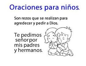 oraciones con dibujo para niños 1